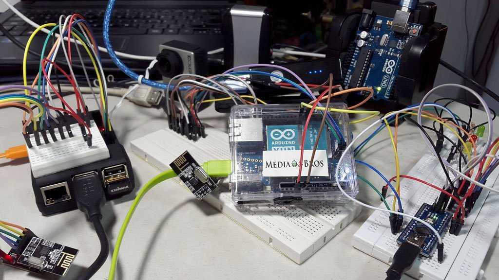 IOT con Arduino YUN, Nano, UNO y Raspberry PI