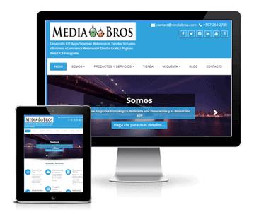 Webdesign, Paginas Web | Mediabros