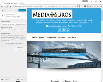 Webmastering : Sitio o Pagina Web Administrable